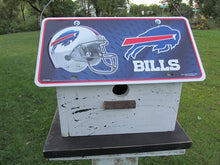 Load image into Gallery viewer, License Plate Birdhouse Buffalo Bills