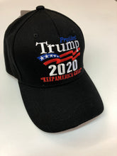 Load image into Gallery viewer, Black 2020 Keep America Great hat