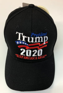 Black 2020 Keep America Great hat
