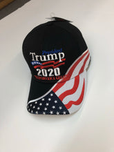 Load image into Gallery viewer, New design! Black Trump 2020 flag hat