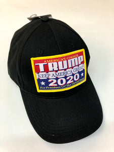 Black Trump 2020 hat