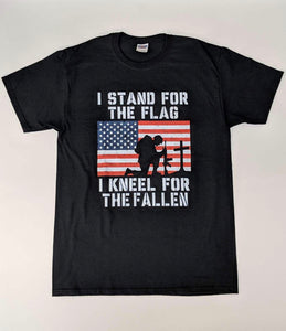 Stand for the Flag, kneel for the Fallen shirt