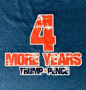 """4 more years"" shirt"