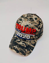 Load image into Gallery viewer, Trump 2020 camo hat - Back In stock!