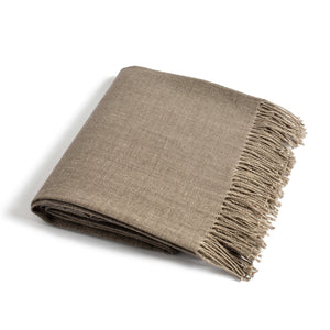 Linen Throw PREILA choco