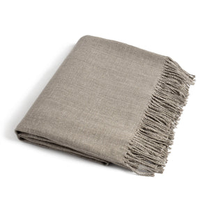 Linen Throw PREILA silver