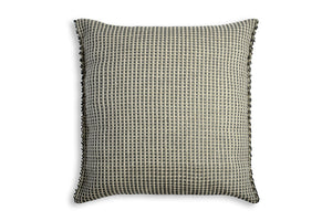 Handwoven Cushion Cover AUSTĖ graphite grey