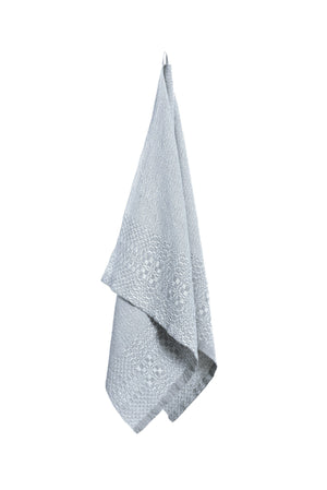 Handwoven Linen Towel KATPĖDĖ smoke grey
