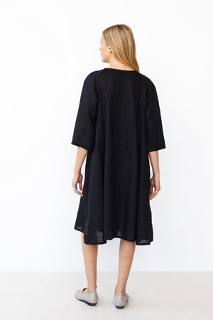 Dress MILDA in black