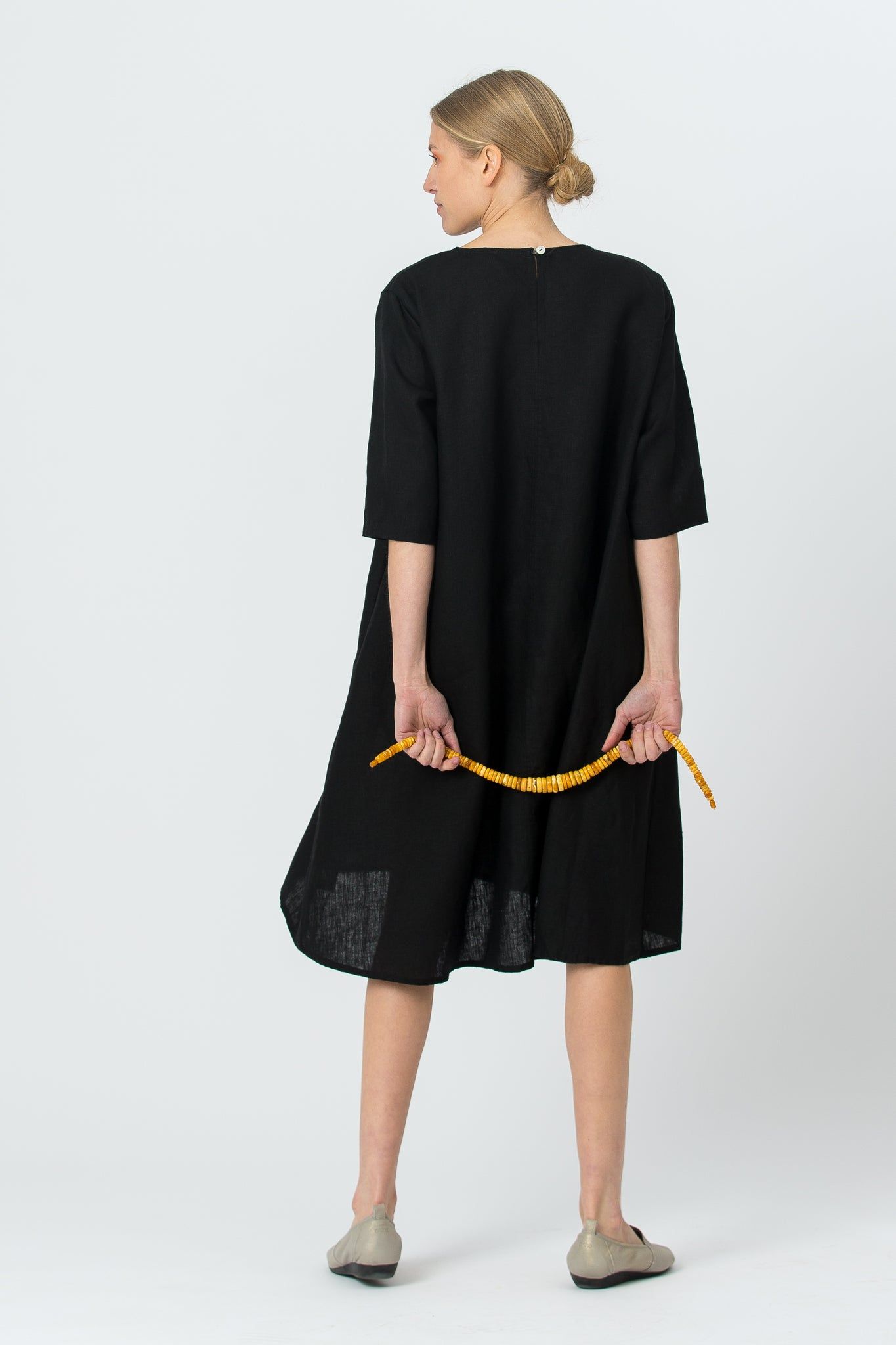 Dress DALIA in black