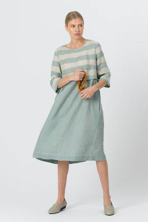 Linen Dress MORTA mint