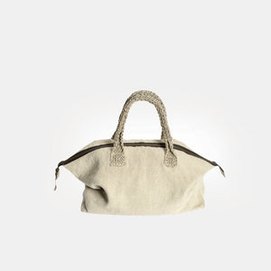 Large linen bag BURĖ with linen handles