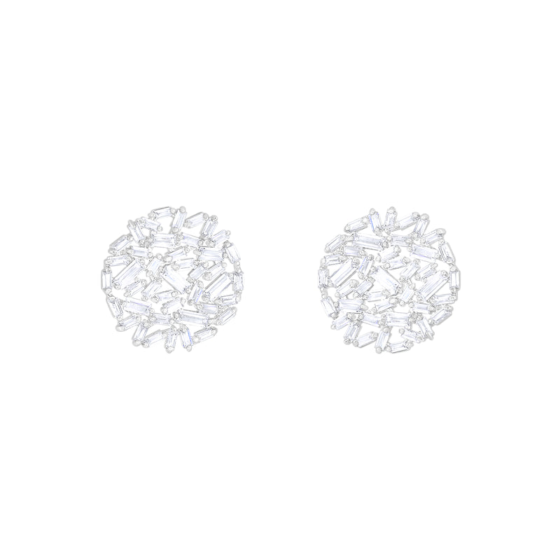 Glace Disc Earrings