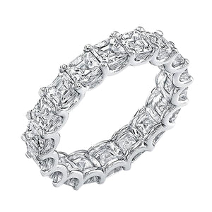Square Cut Gem Eternity Band