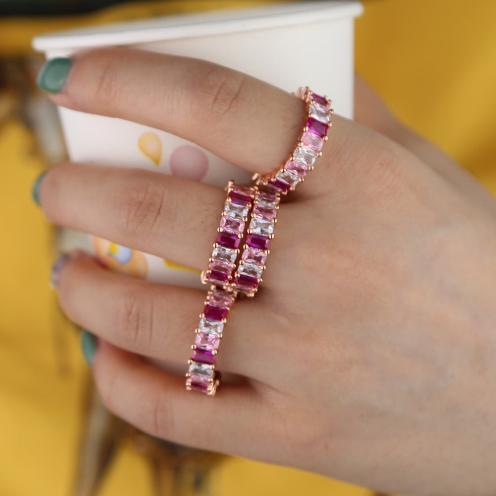 Rosella Gem Eternity Band