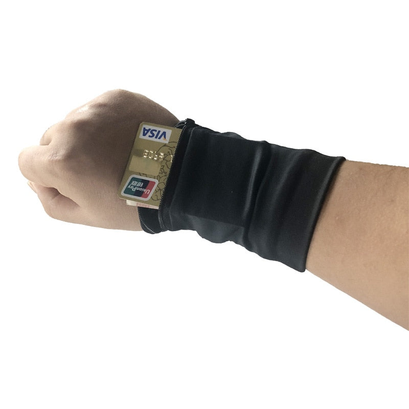 Travel Safe Valuable and Jewelry Wrist Pouch