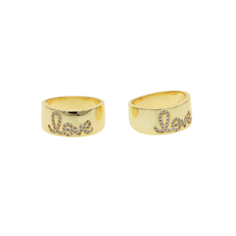 LOVE Engraved Ring