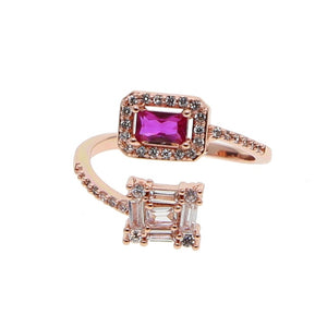 Ella Color Gem Ring