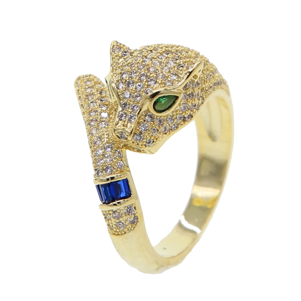 Panther Pave Ring