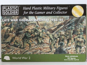 Plastic Soldier Late War German Infantry 1943-1945