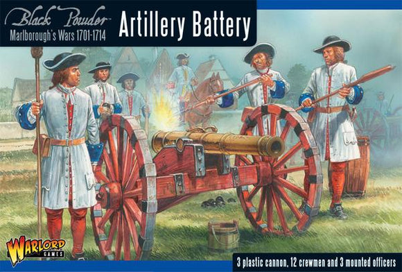 Warlord Games Marlborough's Wars Artillery Battery