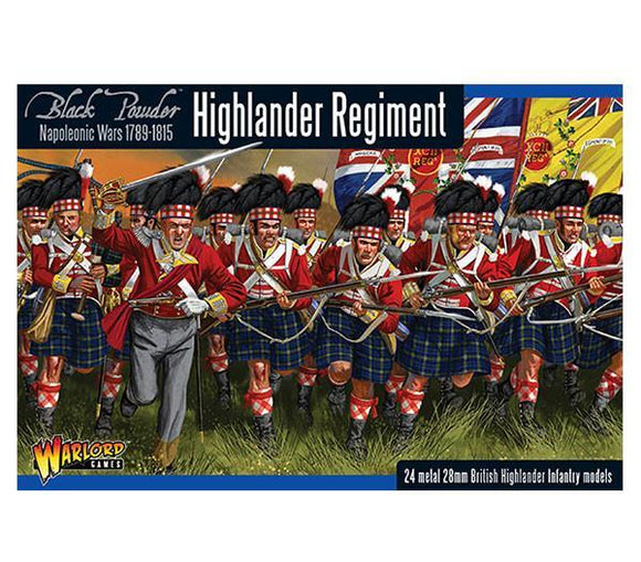 Warlord Games Napoleonic British Highlanders Regiment