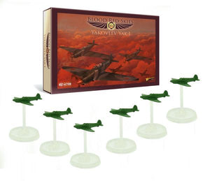 Warlord Games Blood Red Skies Yak1 Squadron 6 Planes Set