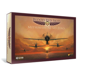 Warlord Games Blood Red Skies Japanese A6MX Zero Squadron 6 Planes