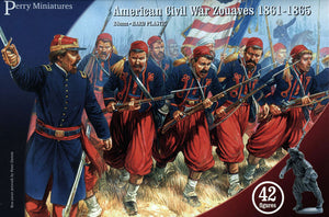 Perry Miniatures American Civil War Zouaves Infantry