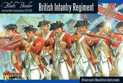 Warlord Games AWI British Infantry Regiment Plastic Box Set