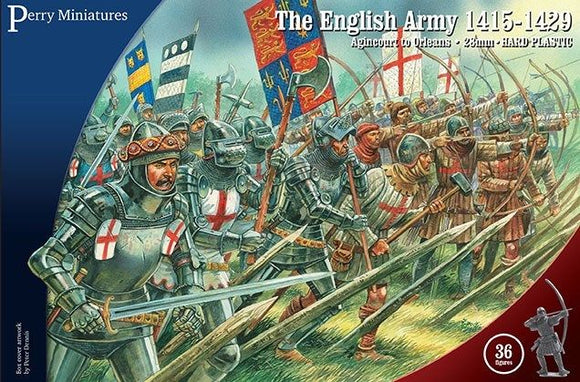 Perry Miniatures Agincourt The English Army 1415-1429