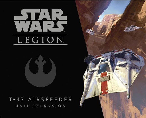 Star Wars Legion T-47 Airspeeder Rebel Expansion Set