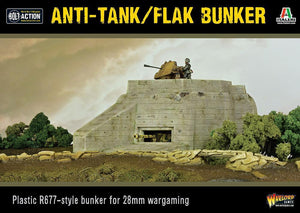Warlord Games Bolt Action Anti-Tank Flak Bunker Set