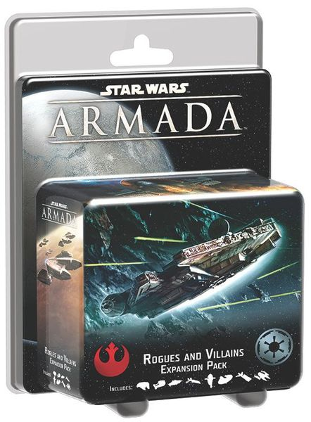 Star Wars Armada Rogues and Villains Expansion