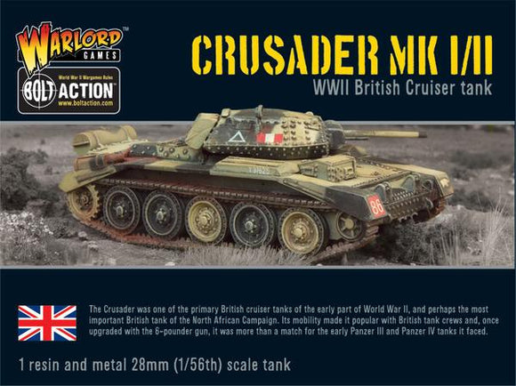 Bolt Action British Crusader MKI/II Tank