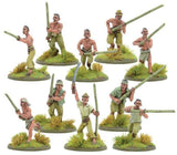 Bolt Action Japanese Bamboo Spear Fighter Squad