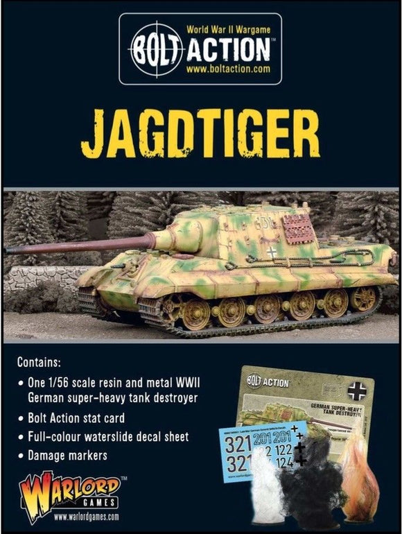 Bolt Action Jagdtiger German Heavy Tank