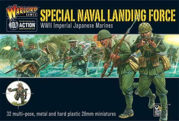 Bolt Action Japanese Special Naval Landing Force