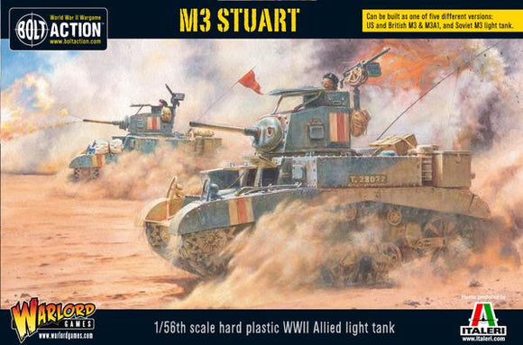 Bolt Action M3 Stuart Allied Light Tank