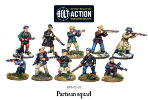 Warlord Games Bolt Action Partisan Squad