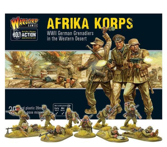 Bolt Action German Afrika Korps Box Set