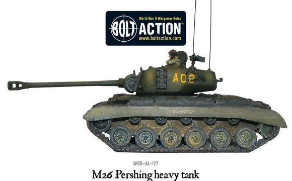 Bolt Action M26 Pershing US Heavy Tank