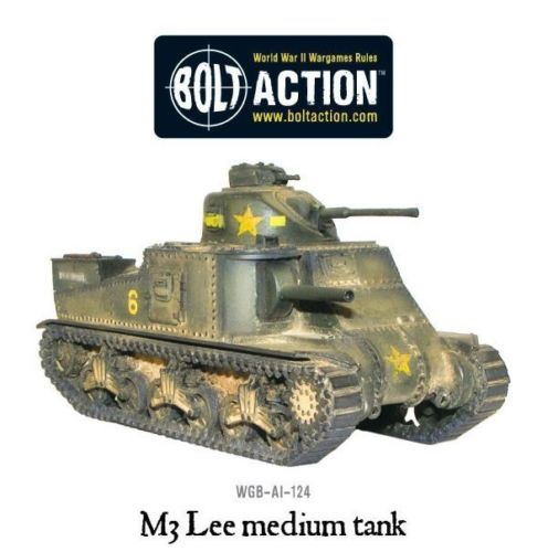 Bolt Action M3 Lee Medium Tank