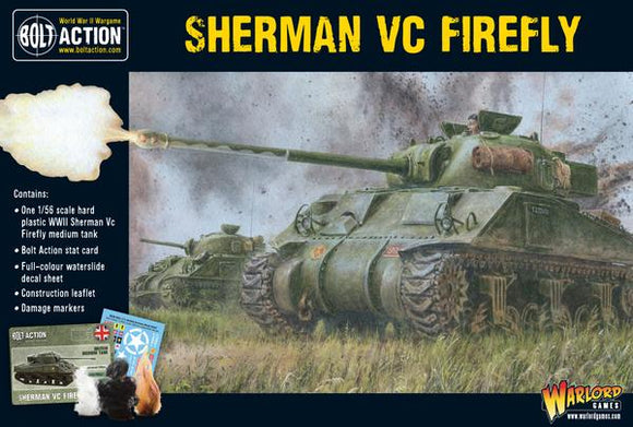 Warlord Games Bolt Action Sherman Firefly VC Tank