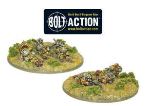 Warlord Games Bolt Action US Airborne 30 cal Machine Gun Team
