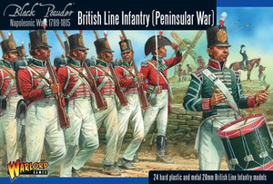 Warlord Games Napoleonic Peninsular War British Line Infantry