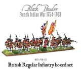 Warlord Games French Indian War British Regular Infantry