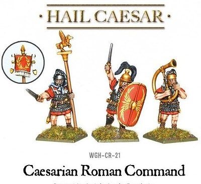 Warlord Games Caesarian Roman Command