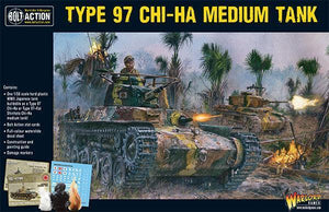 Bolt Action Chi-Ha Japanese Tank Box Set