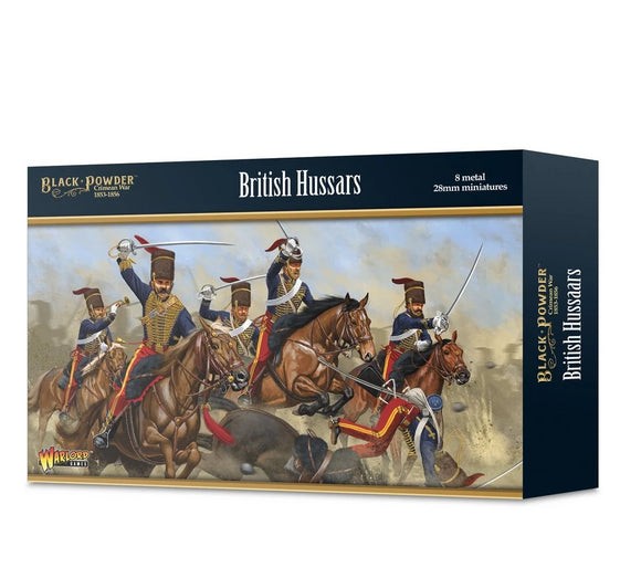 Warlord Games Crimean War British Hussars